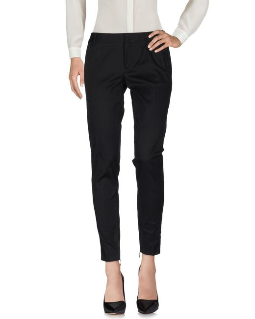 DSquared² - Black Casual Pants - Lyst