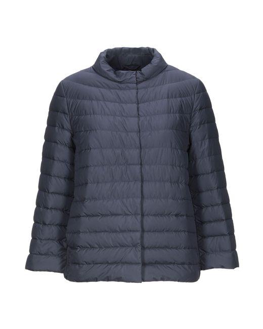 Add Blue Down Jacket