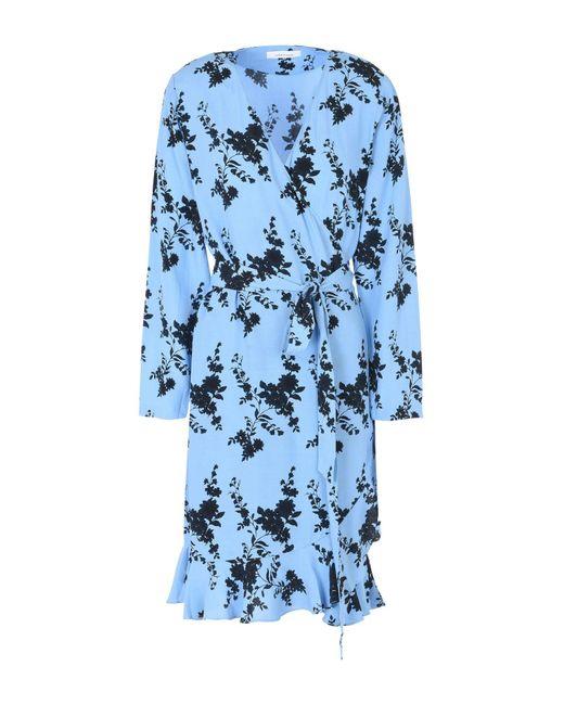 Samsøe & Samsøe - Blue Short Dress - Lyst