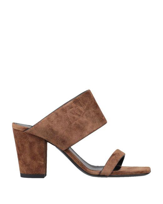 Saint Laurent Brown Sandals