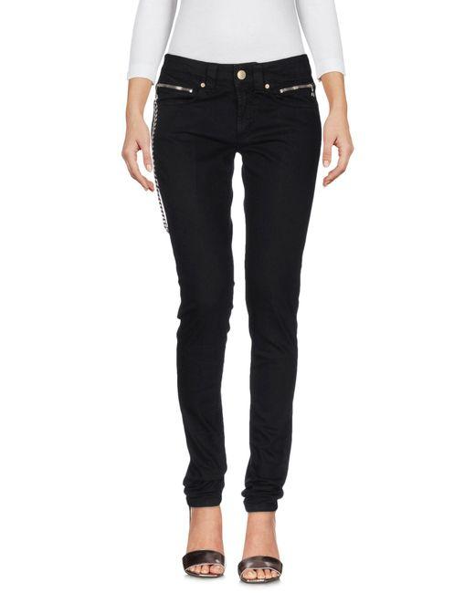 Dondup Black Denim Pants