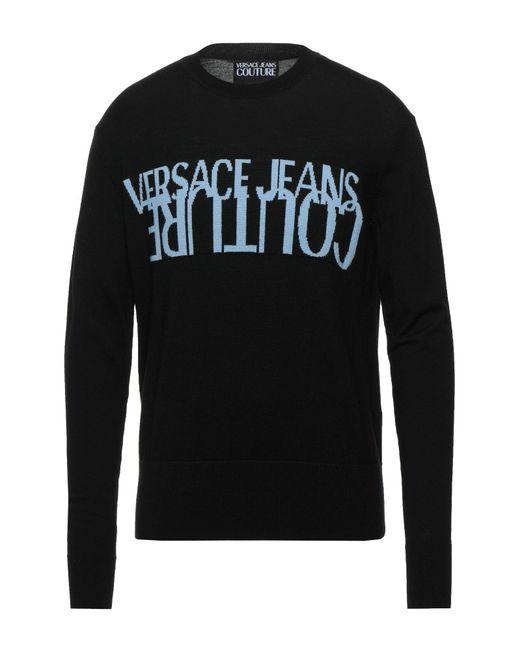 Versace Jeans Black Jumper for men