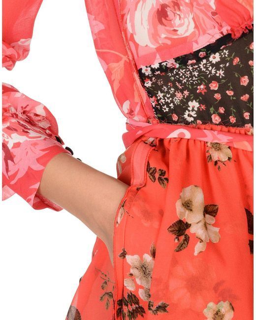 The Attico Red Long Dress