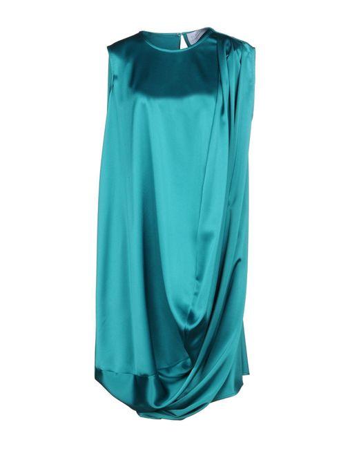 Gianluca Capannolo Green Short Dress