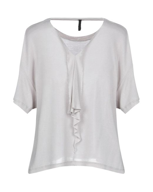 T-shirt di Unravel Project in Gray