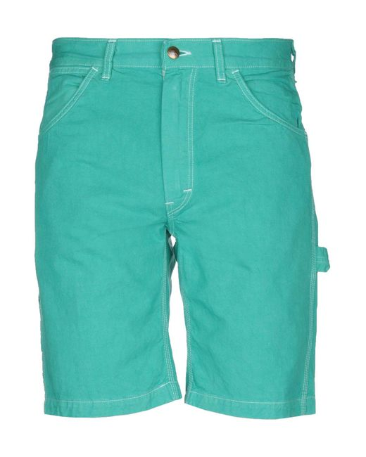 Orslow Green Bermuda Shorts for men