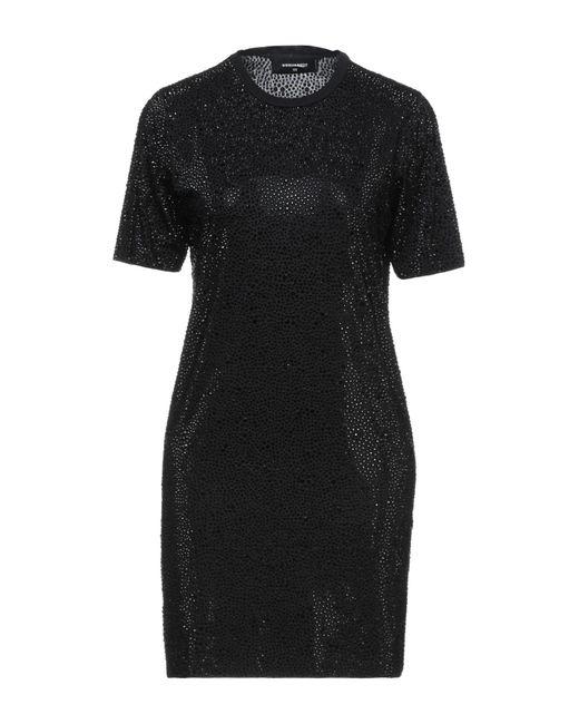 DSquared² Black Kurzes Kleid