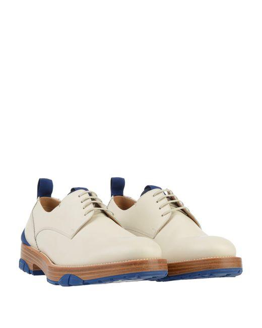 Ferragamo Schnürschuh in White für Herren