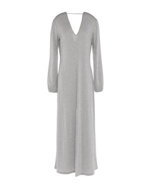 Robe longue ..,merci en coloris Gray