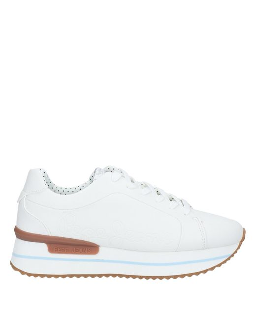 Pepe Jeans White Low-tops & Sneakers