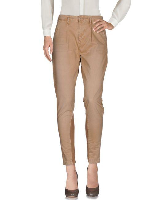 Pantalones Woolrich de color Natural