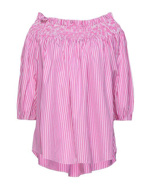 Blusa di Caroline Constas in Pink