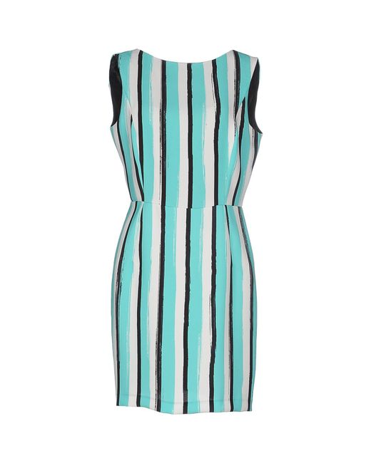 Marco Bologna - Green Short Dress - Lyst