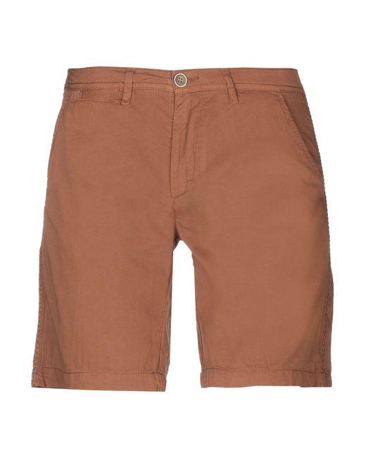 40weft - Brown Bermuda Shorts - Lyst
