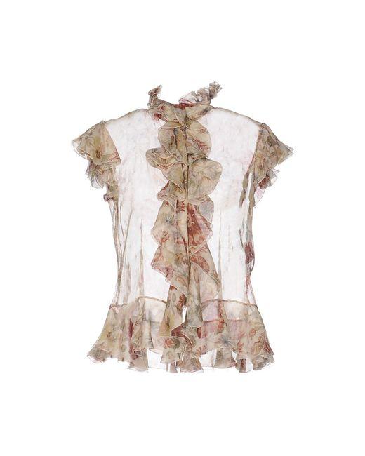 Alexander McQueen Natural Shirt