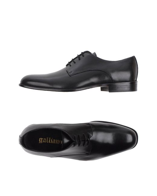 John Galliano - Black Lace-up Shoes for Men - Lyst