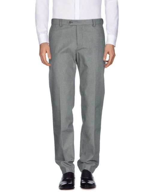 Brooks Brothers Gray Casual Pants for men