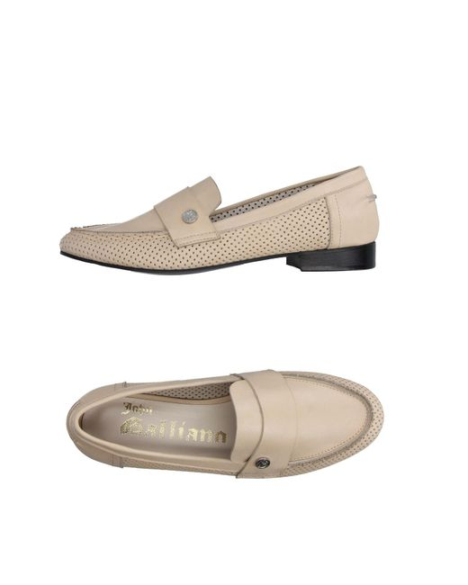 John Galliano - Natural Loafer - Lyst