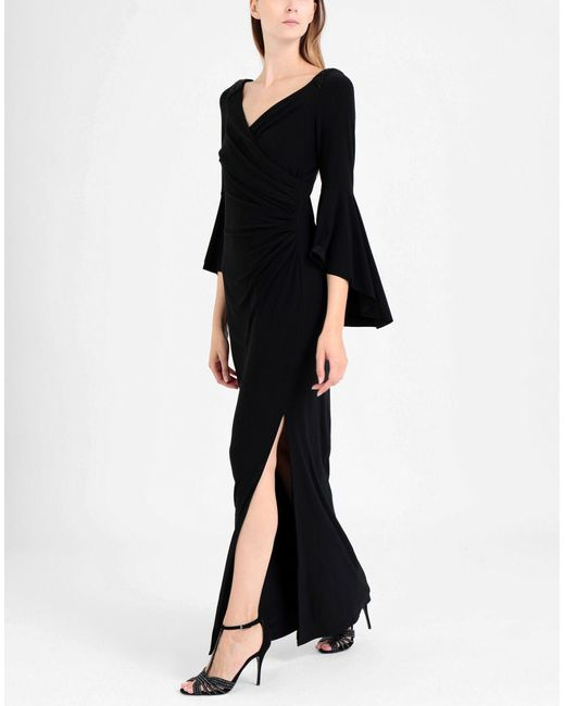 Vestido largo Lauren by Ralph Lauren de color Black