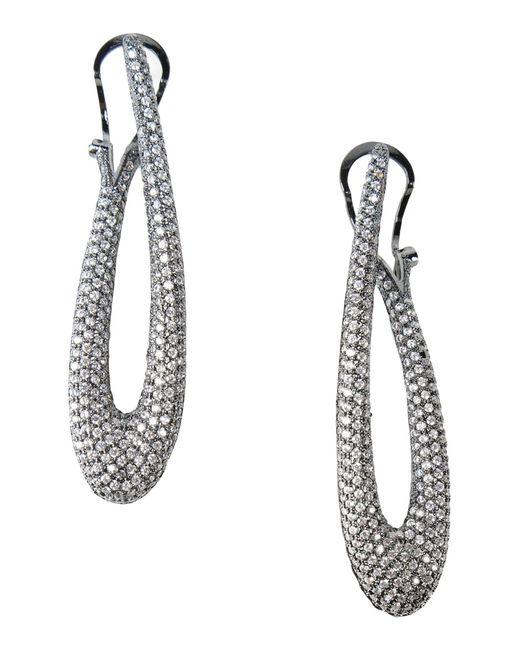 Noir Jewelry - Black Earrings - Lyst