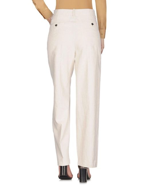 Forte Forte White Casual Trouser