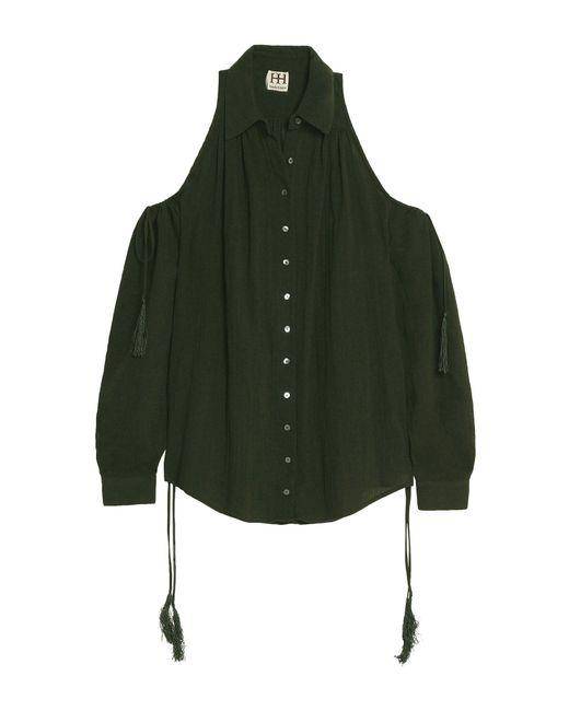 Haute Hippie Camicia da donna di colore verde
