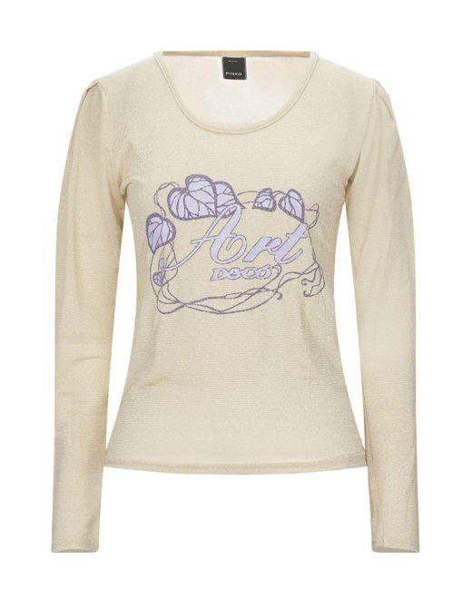 Pinko T-shirt da donna di colore neutro