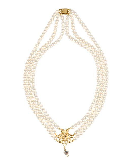 Tom Binns | White Necklace | Lyst