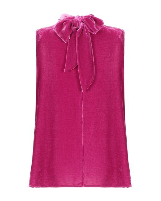 Top di Her Shirt in Pink
