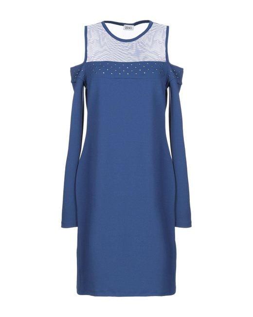 Liu Jo Blue Kurzes Kleid