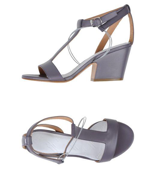 Maison Margiela - Purple Sandals - Lyst