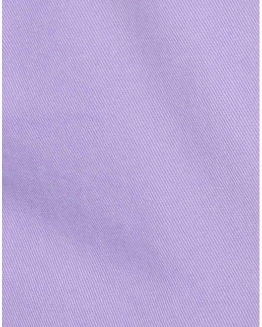 PT01 Pantalon homme de coloris violet VdZZ5