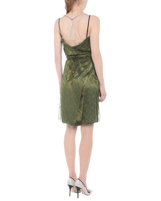 Vestito corto di Nina Ricci in Green