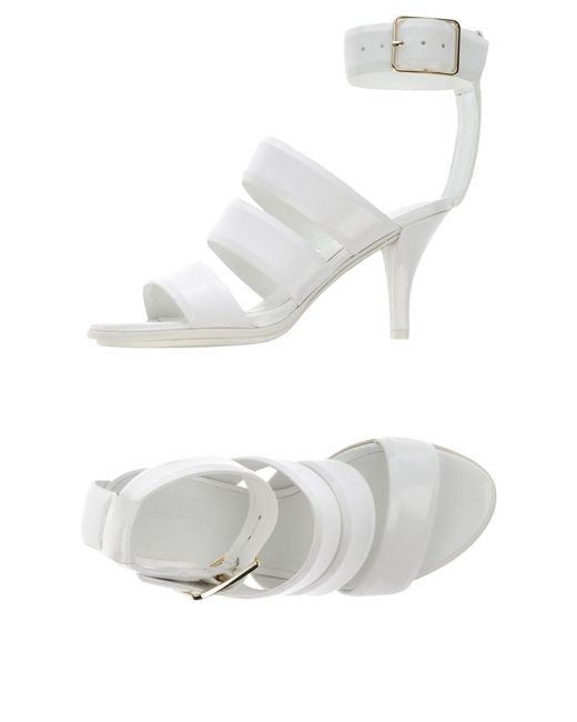 Alexander Wang - White Sandals - Lyst