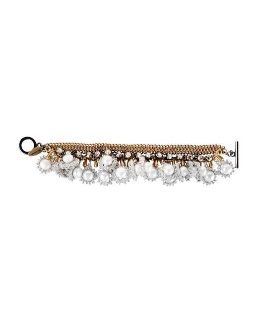 Venna - Metallic Bracelet - Lyst