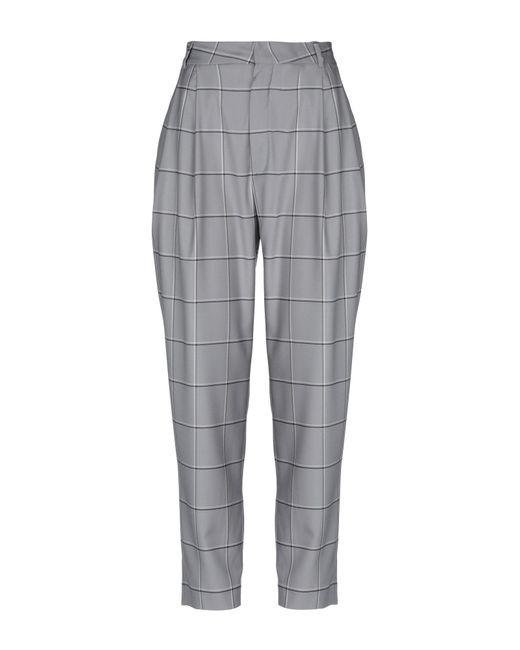 Carmen March Gray Casual Trouser