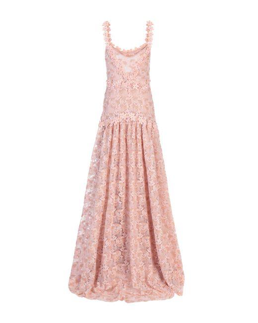 Vestito lungo di Piccione.piccione in Pink