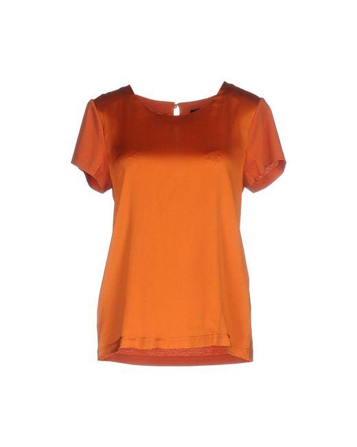 Twin Set - Orange T-shirts - Lyst
