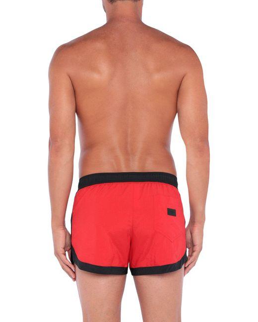 Bañadore tipo bóxer Moschino de hombre de color Red