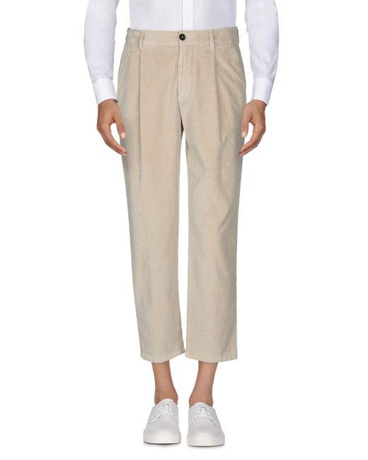 Pantalone capri di TRUE NYC in Natural da Uomo