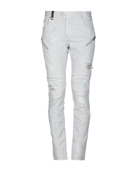 Just Cavalli Gray Denim Pants for men