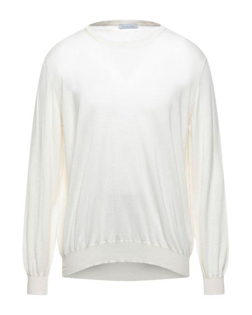 Pullover di SPADALONGA in White da Uomo