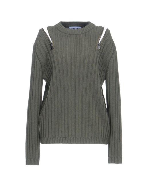 Moschino - Green Sweaters - Lyst