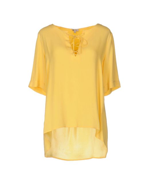 Her Shirt - Yellow Blouses - Lyst