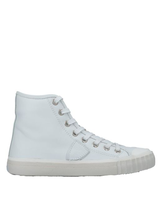 Philippe Model - White High-tops & Sneakers - Lyst