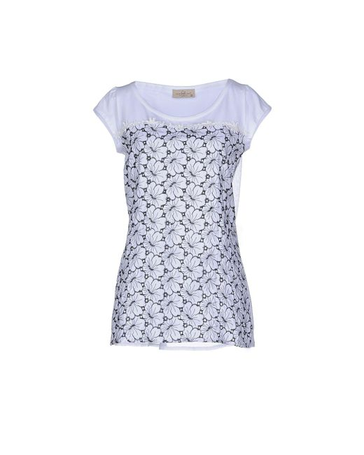 Just For You   Blue T-shirt   Lyst