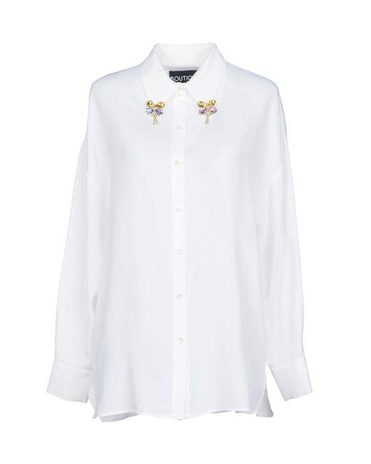 Boutique Moschino - White Shirt - Lyst