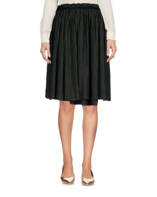 A.F.Vandevorst Green Knee Length Skirt