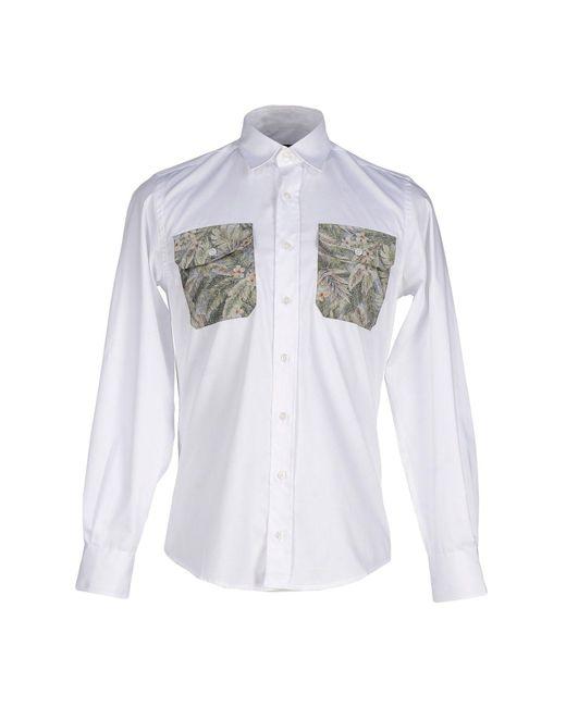 Christopher Raeburn - White Shirt for Men - Lyst