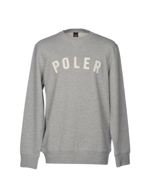 Poler - Gray Sweatshirts for Men - Lyst